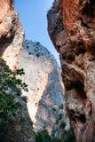 Canyon Turquie de Saklikent Photos libres de droits