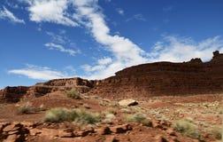 Canyon un bello giorno immagini stock libere da diritti