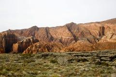 Canyon Utah della neve fotografie stock