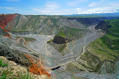 Canyon variopinto Fotografia Stock Libera da Diritti