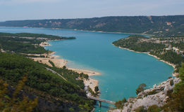 Canyon Verdon Royalty Free Stock Images