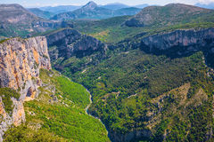 Canyon of Verdon,  France Stock Photo