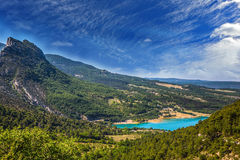 Canyon of Verdon,  May Royalty Free Stock Photography