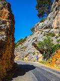 The canyon Verdon, Provence Royalty Free Stock Image