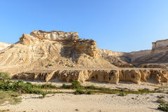 Canyon of Wadi Ash Shuwaymiyyah (Oman) Stock Photo