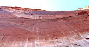 Canyon Wall at Lake Powell Royalty Free Stock Images