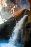 Canyon waterfall Royalty Free Stock Photography