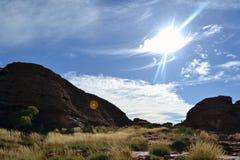 Canyon Wattarka国王国家公园 图库摄影