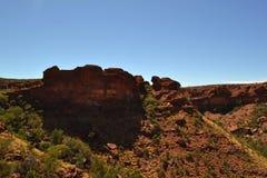 Canyon Wattarka国王国家公园 库存照片
