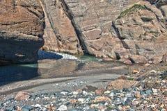 Canyon. On the way to Kel-Suu lake, Naryn region, Kyrgyzstan Royalty Free Stock Photo