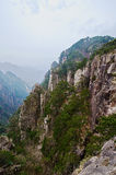 The canyon of West sea valley Stock Images