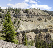 Canyon in Yellowstone Royalty Free Stock Photography