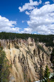 Canyon in Yellowstone Royalty Free Stock Photos