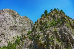 The canyon yolu Stock Images