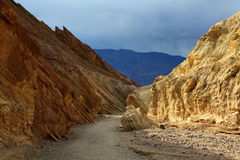 Canyon at Zabriskie Point Royalty Free Stock Images