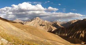 Canyon of Zanskar river. View from Zanskar valley Royalty Free Stock Images