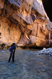 Canyoneering Royalty Free Stock Photography