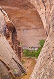 canyoneering Utah Στοκ Φωτογραφία