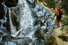 Canyoning Stock Photography