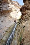canyoning Royaltyfria Bilder