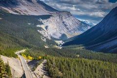 Canyoning autostrady znakomite przepustki Fotografia Stock