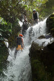 Canyoning Extreme Sport Royalty Free Stock Images