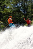 Canyoning waterfall decent Vietnam Royalty Free Stock Image