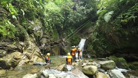Canyoning Zip Line