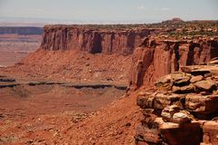 Canyonland Erosion Royalty Free Stock Photography