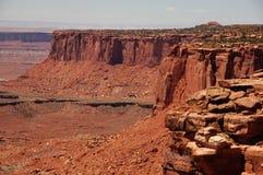 Canyonland erozja Fotografia Royalty Free