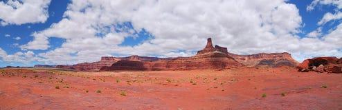 Canyonland national park. Grand view of canyonland national park panorama Royalty Free Stock Photos
