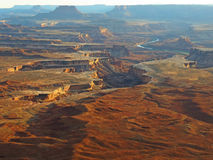 Canyonland Overlook Stock Images