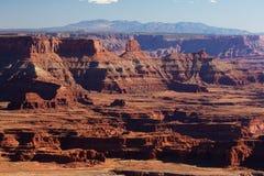 Canyonlands国家公园壮观的风景在犹他,美国 库存图片