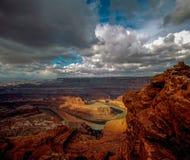canyonlands犹他 库存照片