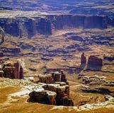 Canyonlands看法在犹他 库存照片