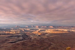 Canyonlands风景 免版税库存图片