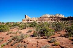 Canyonlands ökenlandskap Arkivfoto