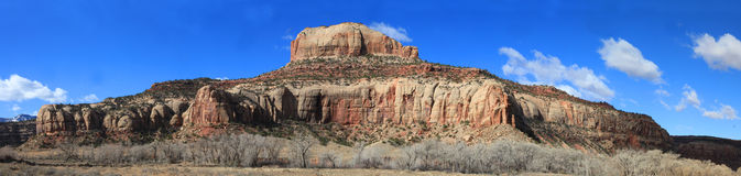 Canyonlands панорамное Стоковые Изображения RF