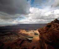 Canyonlands, Юта Стоковое Фото