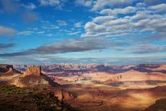 Canyonlands fotografering för bildbyråer