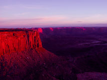Canyonlands. Utah early morning at sunrise Stock Photo