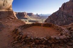Δαχτυλίδι Canyonlands των πετρών Στοκ Φωτογραφίες