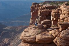 canyonlands Royaltyfri Bild