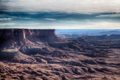 Canyonlands, with diversity that staggers the imagination royalty free stock photography