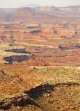 Canyonlands e scogliere di MESA Immagini Stock Libere da Diritti