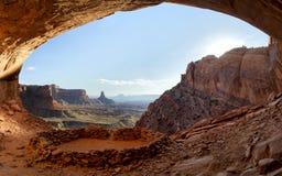 canyonlands fałszywy kiva park narodowy Obrazy Stock