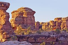 Canyonlands Formations Royalty Free Stock Image