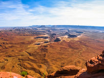 Canyonlands, Island in the Sky, Utah Stock Images