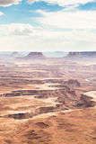 Canyonlands,island in the sky Royalty Free Stock Photography