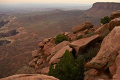 Canyonlands Landscape Stock Photography